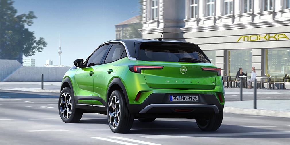 Opel может начать поставки на рынок РФ нового кроссовера Opel Mokka