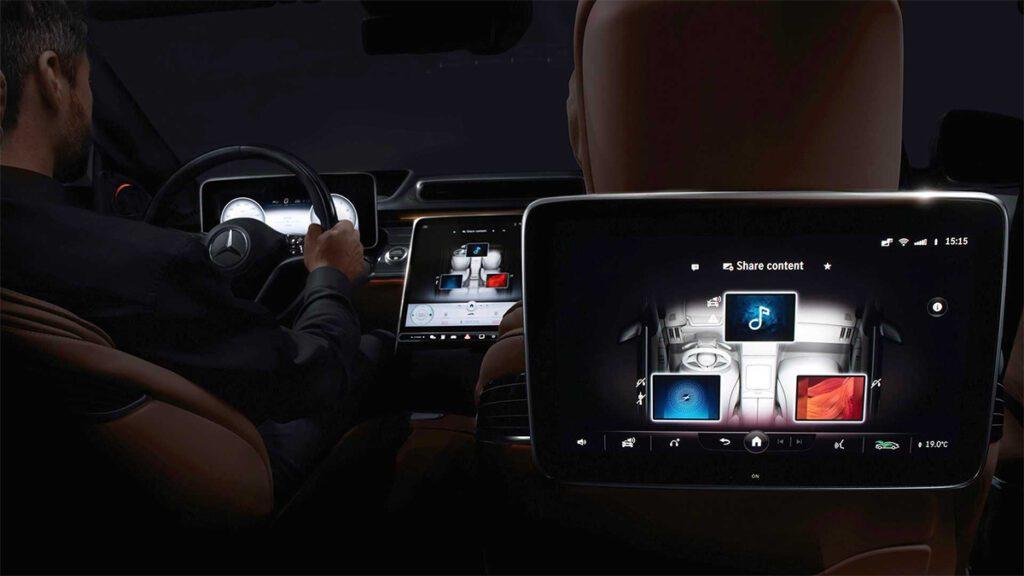 Mercedes-Benz официально показала интерьер S-Class нового поколения