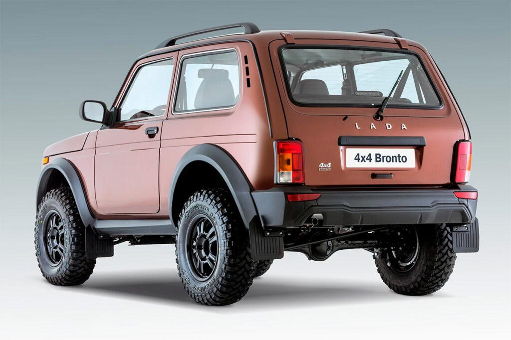 АвтоВАЗ прекратил продажи Lada 4x4 Bronto