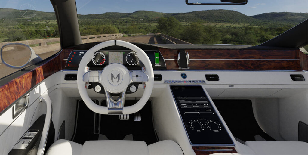 Российская марка Monarch выпустит премиальный электромобиль