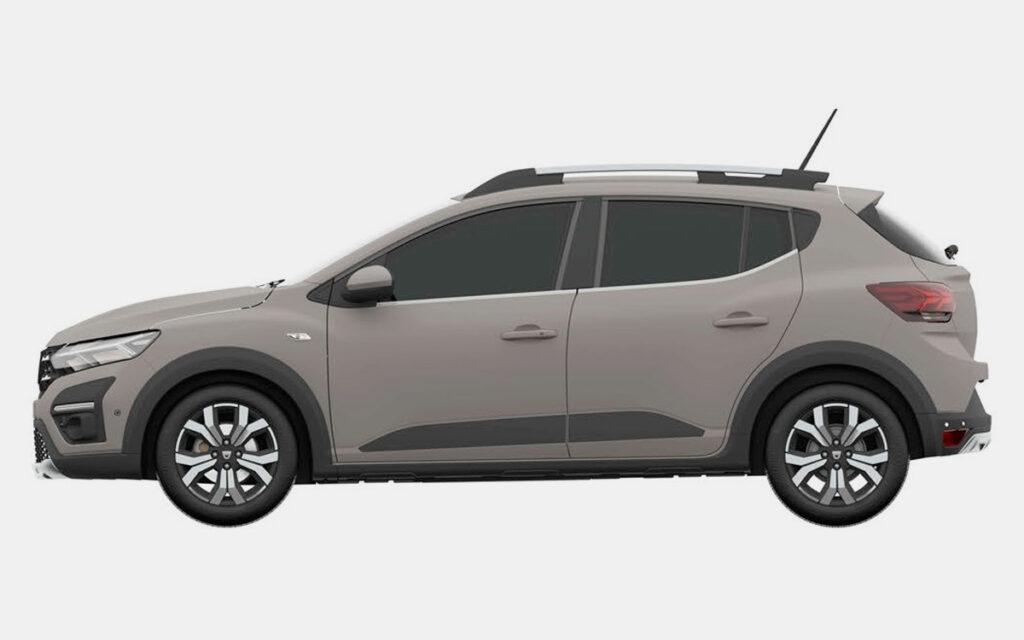 Renault запатентовал в России новый кросс-хэтчбек Sandero Stepway