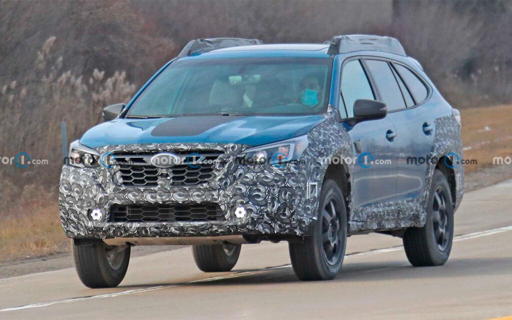Новый суббренд от Subaru вывел на тесты свой первый внедорожник