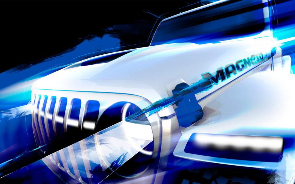 Jeep уже в марте представит концепт нового внедорожника Wrangler Magneto