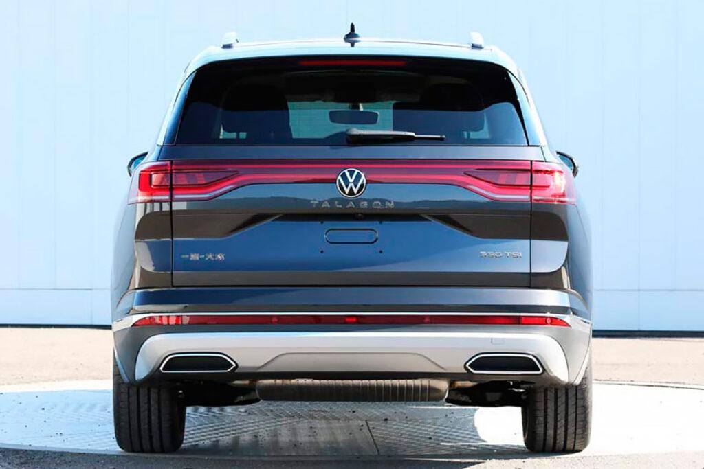 Volkswagen в апреле 2021 года представит новый полноразмерный кроссовер Talagon