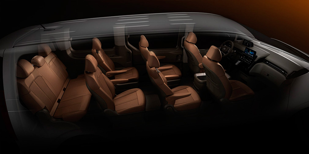Опубликованы характеристики нового минивэна Hyundai Staria