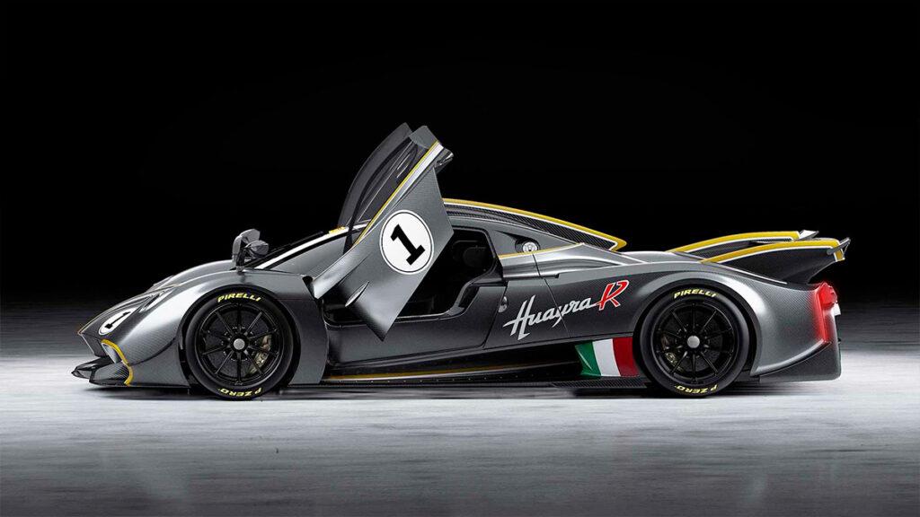 Итальянская Pagani представила 850-сильный трековый суперкар Huayra R 2021 года