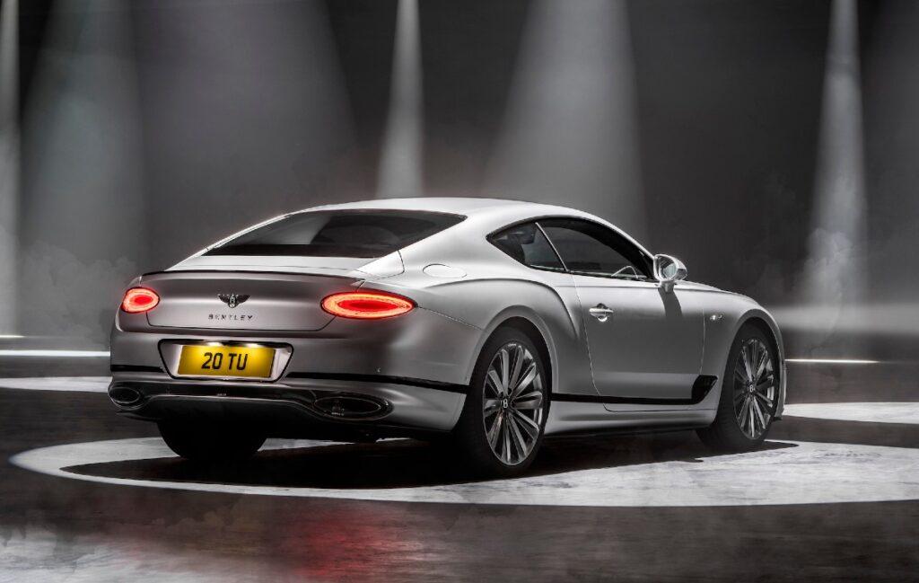 Представлено новое поколение купе Bentley Continental GT Speed