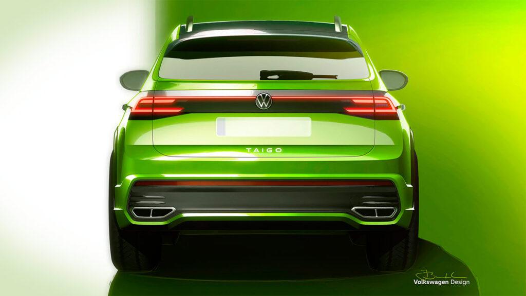 Volkswagen представил изображения нового кросс-купе Taigo для Европы