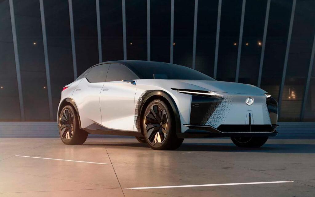 Lexus представила концепт-кар электрического кроссовера Lexus LF-Z Electrified