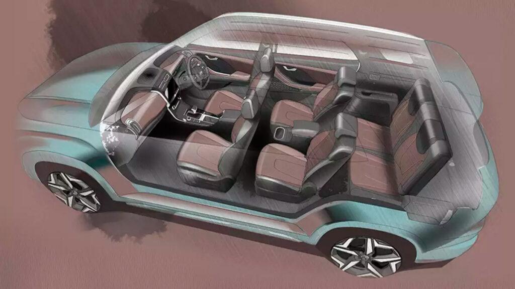 Компания Hyundai презентовала семиместную версию кроссовера Creta Alcazar