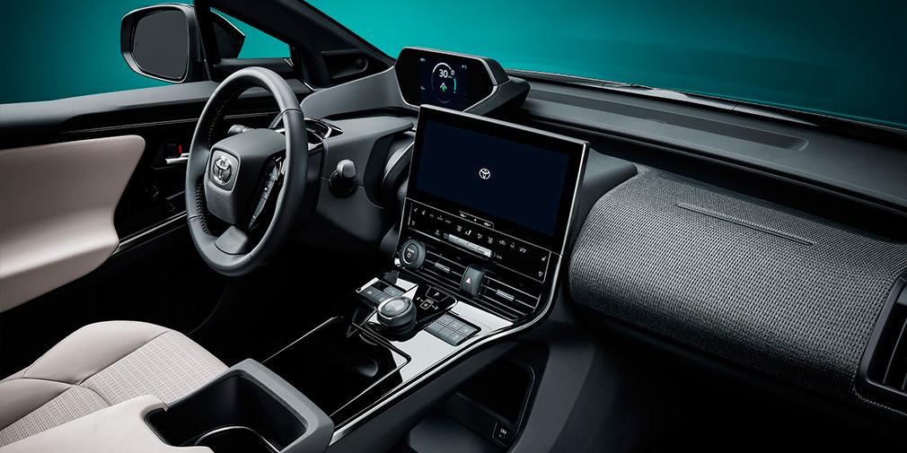 Toyota представила концепт-кар электрического кроссовера Toyota bZ4X