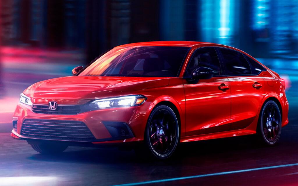 Компания Honda представила седан Honda Civic новой генерации