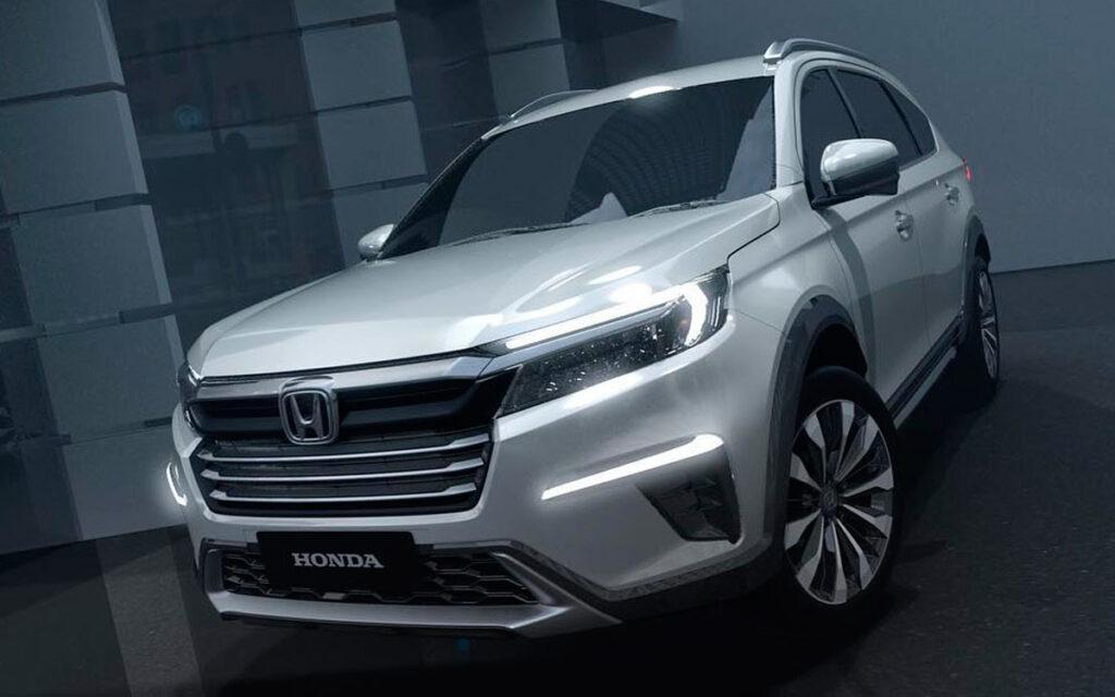 Новый бюджетный семиместный кроссовер Honda N7X представлен официально