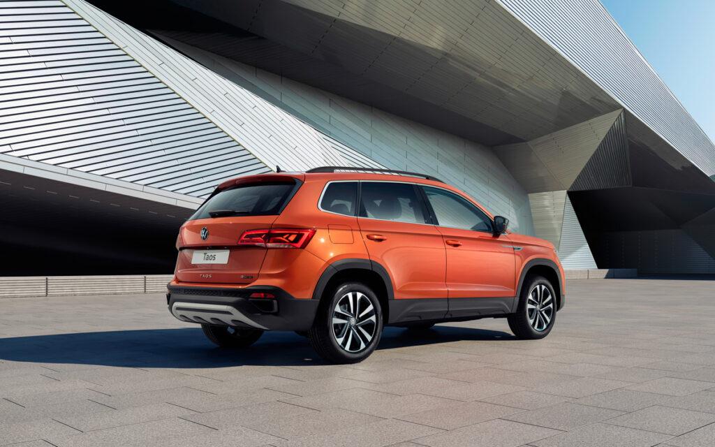 Volkswagen представил и запустил в производство в РФ новый кроссовер Taos