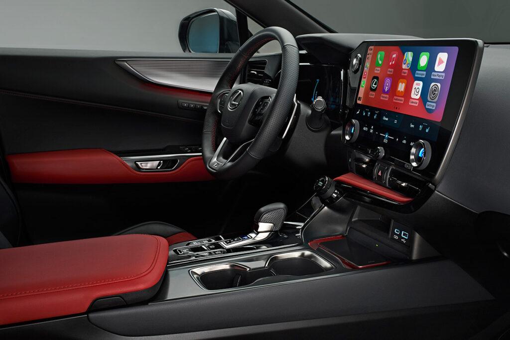 Компания Lexus представила кроссовер Lexus NX новой генерации