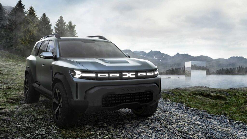Румынская марка Dacia представила новый логотип и брендинг для моделей 2022 года