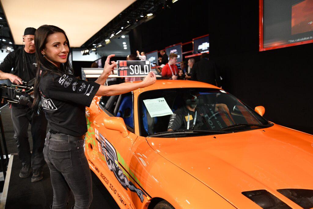 Toyota Supra Пола Уокера из «Форсажа» продан на аукционе за 40 млн рублей