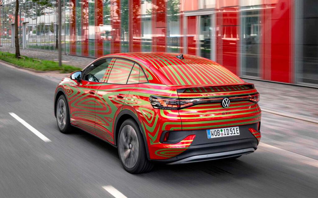 Volkswagen в сентябре покажет предсерийный электрический кросс-купе ID.5