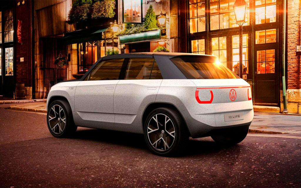 Volkswagen анонсировал новый компактный электрический кроссовер ID. LIFE
