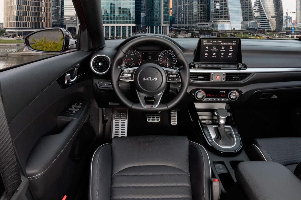 Kia начала продавать в России обновленный Kia Cerato