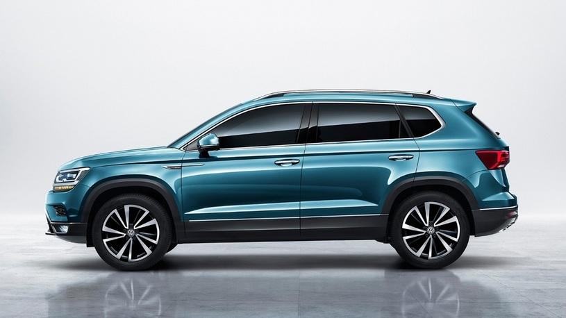 Volkswagen опубликовала первые снимки внедорожника Tharu