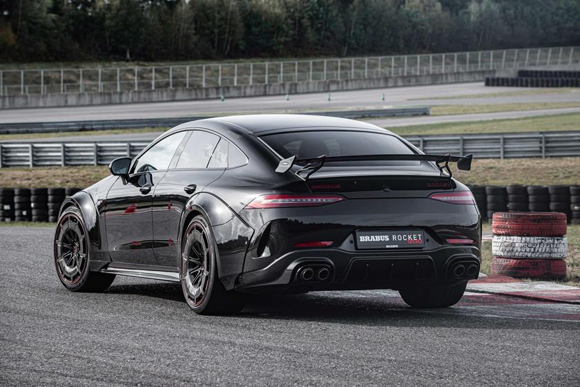 Немецкое ателье Brabus превратило Mercedes-AMG GT63 S в ракету