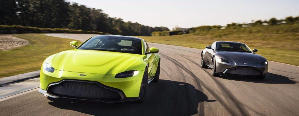 Британцы представили новое поколение купе Aston Martin Vantage