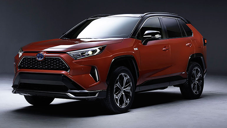 Toyota впервые показала подзаряжаемый Toyota RAV4
