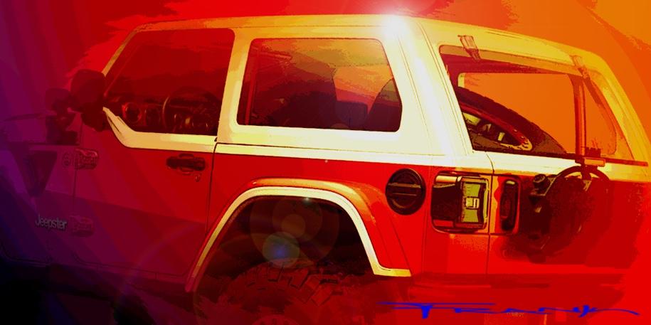 Новый Jeep Wrangler получил две версии для пасхального сафари