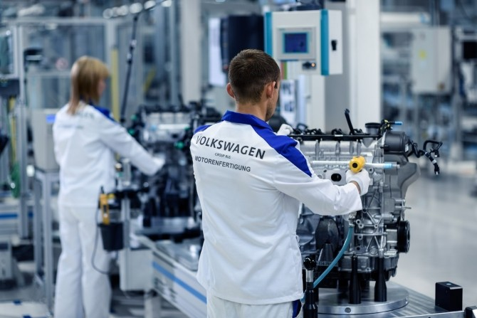 Volkswagen в Калуге выпустил 200-тысячный двигатель 1.6 MPI