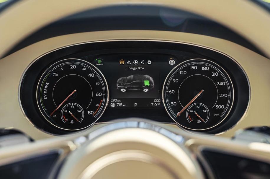 Bentley в Женеве представит гибридный кроссовер Bentayga PHEV