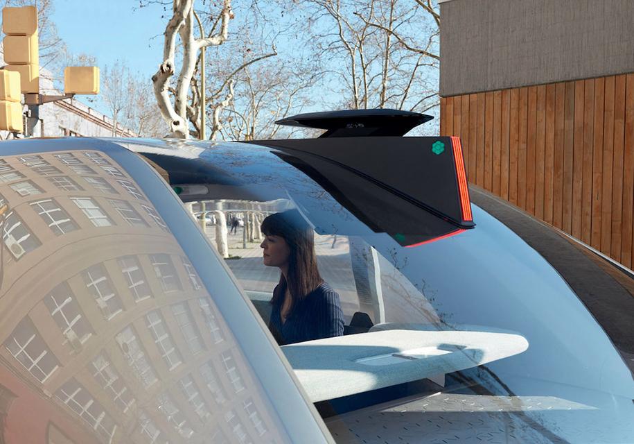 Renault привез в Женеву автономное такси будущего в лице концепта EZ-GO
