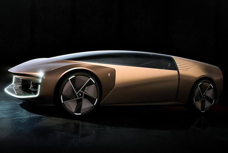 Дизайнерский дом Pininfarina показал концепт-кар электрического концепта Teorema