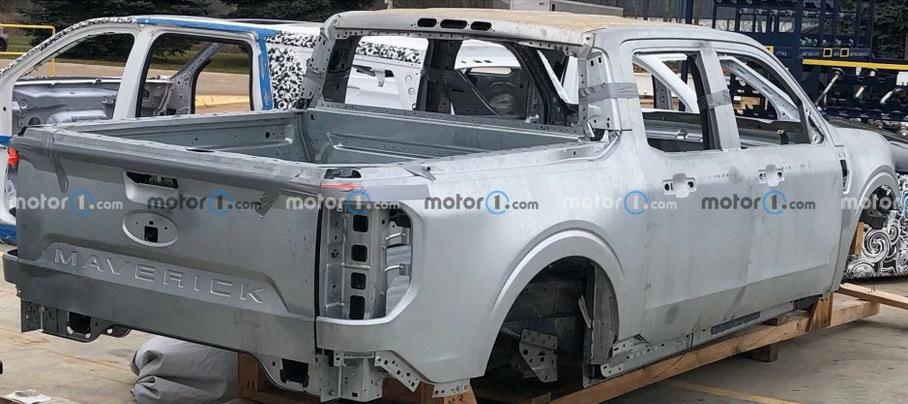 Компания Ford запустила производство пикапа Maverick 2022 года