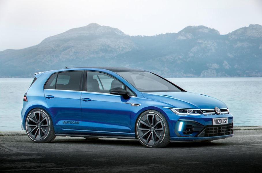 Новый мощный Volkswagen Golf получит 400-сильный двигатель