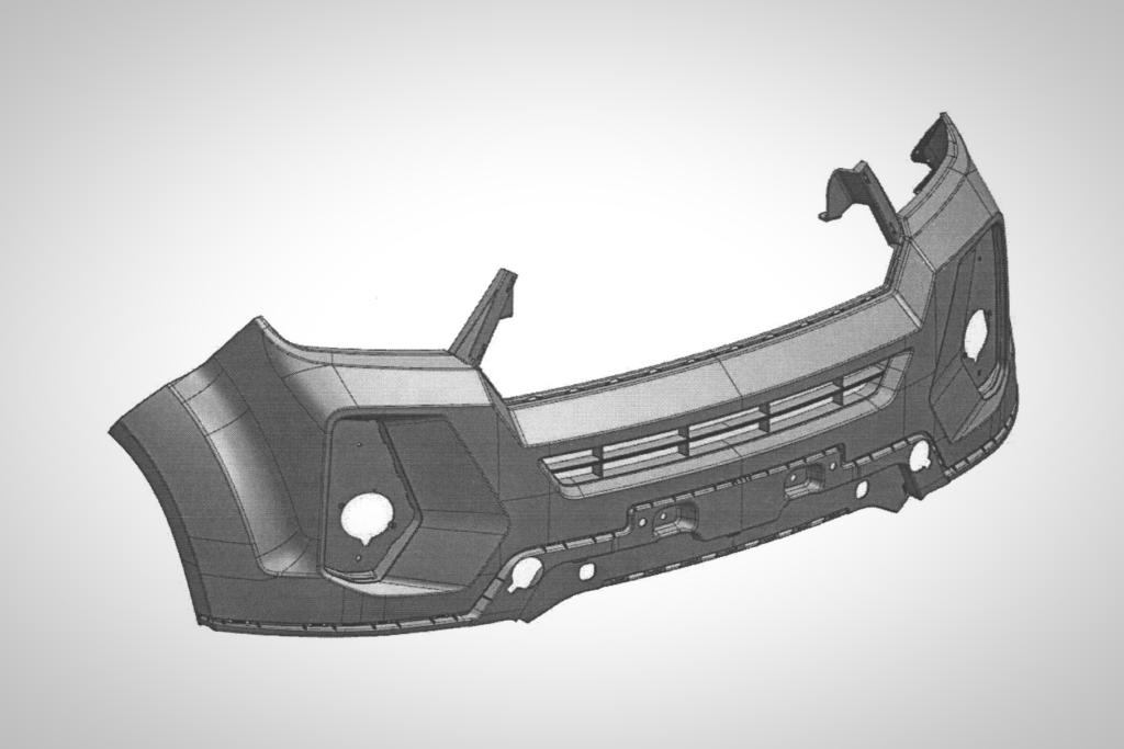 УАЗ «Патриот» получил патент на передний бампер «Русского Prado»