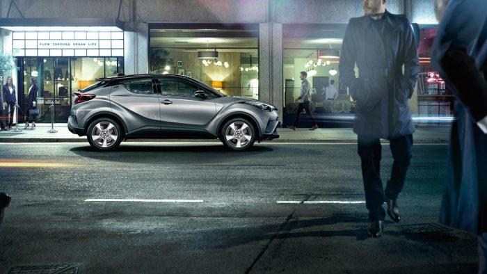Toyota C-HR: стильная новинка от японского производителя