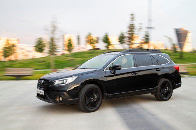Subaru готовит специальную версию Subaru Outback Black Line для РФ