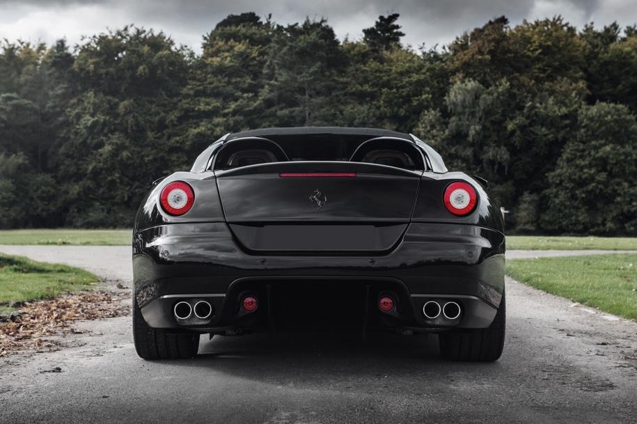 Самый уникальный Ferrari 599 SA Aperta выставили на продажу