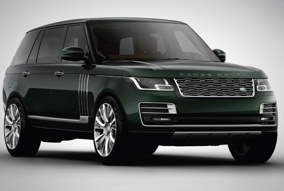 Один из самых дорогих Range Rover появится в России летом