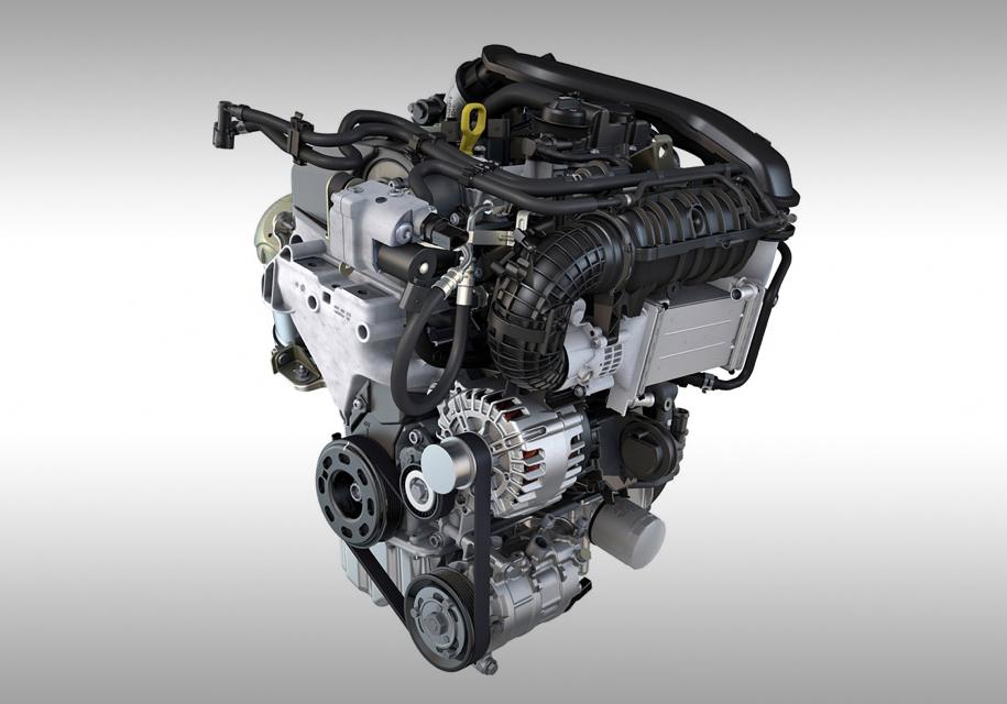 Volkswagen в Вене представила три новых силовых установки