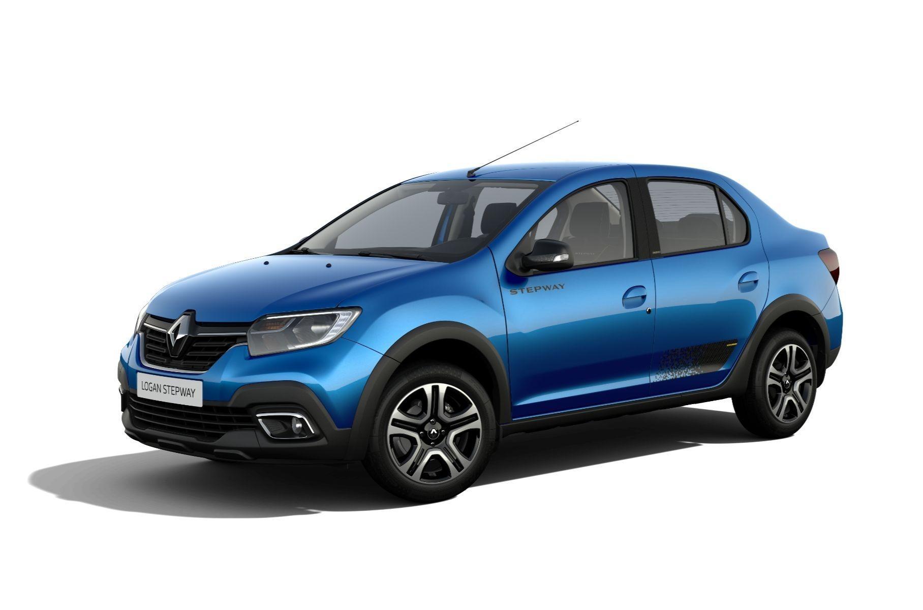 Renault Logan и Sandero: легкий макияж к новому году