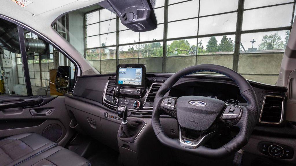 Ford представил фургон Ford MS-RT Transit Custom для ралли