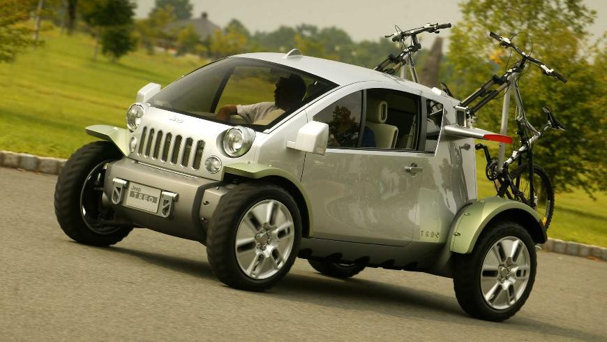 Компания Jeep выпустит электрический внедорожник с названием Treo