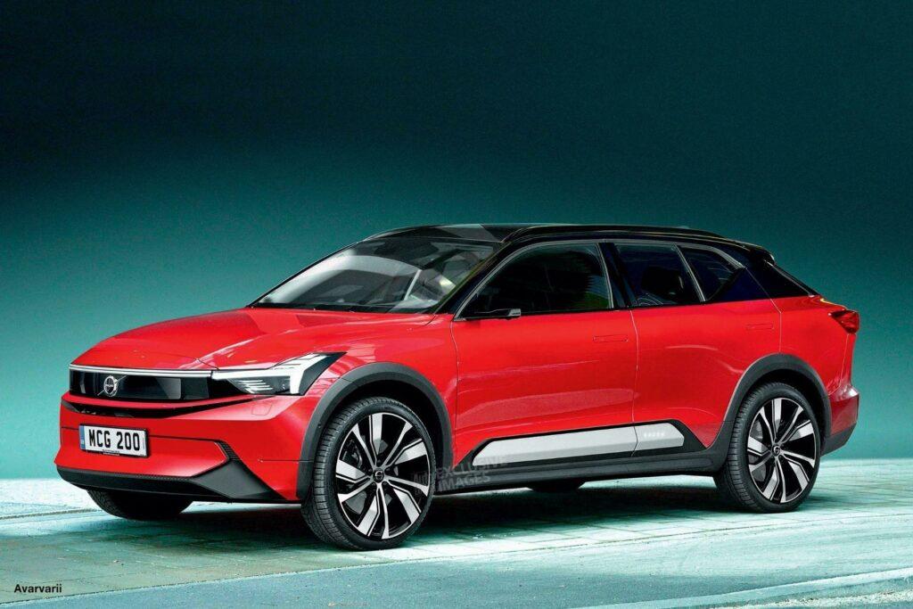 Volvo выпустит новый купеобразный кроссовер