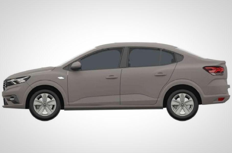 В базе Роспатента появились изображения нового седана Renault Logan