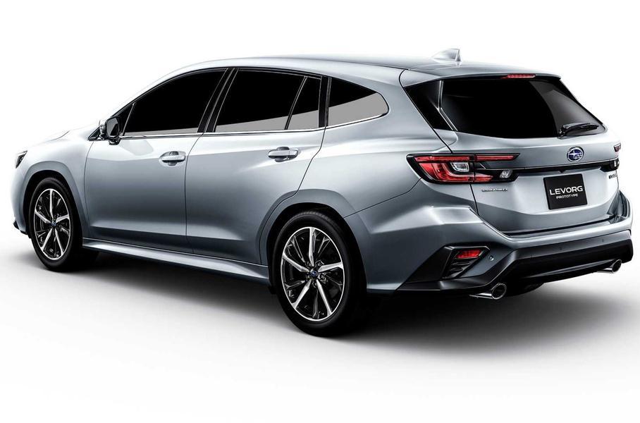Subaru представила в Токио новый универсал Subaru Levorg