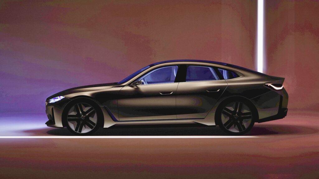 Финальный тизер электрокара BMW i4 опубликовала компания