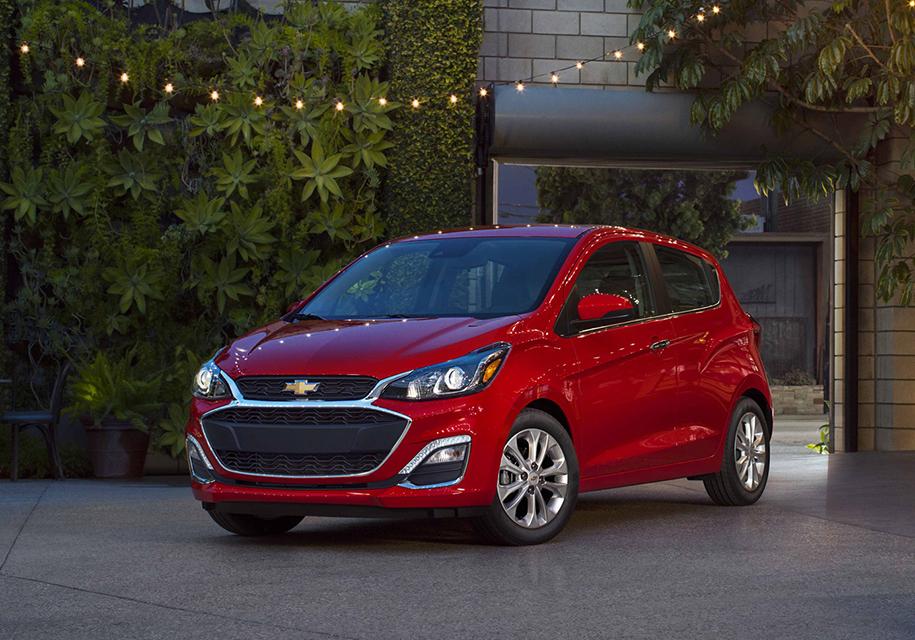 Компания Chevrolet обновила Chevrolet Malibu, Spark и Cruze