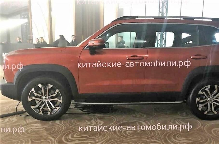 Haval показал новые внедорожники Big Dog и Wey Tank 300 для рынка РФ